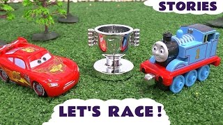 Cars Story Video Race Thomas and Friends Minions Play Doh Micro Drifters Toys McQueen Superheroes