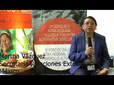 Martha Vázquez. SRE, México (I)