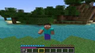 getlinkyoutube.com-Minecraft #1 - Jak zrobić wiadro i nieskończone źródło wody?