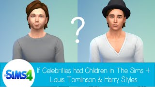 getlinkyoutube.com-If Celebrities Had Children in The Sims 4: Louis Tomlinson & Harry Styles