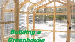 getlinkyoutube.com-Building a Greenhouse - DIY greenhouse construction