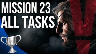 getlinkyoutube.com-Metal Gear Solid 5 Phantom Pain - The White Mamba All Tasks (Mission 23)