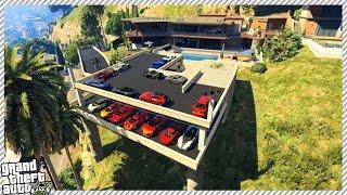 getlinkyoutube.com-FRANKLIN'S NEW GARAGE UPDATE FOR HOUSE!! (GTA 5 GAMEPLAY)
