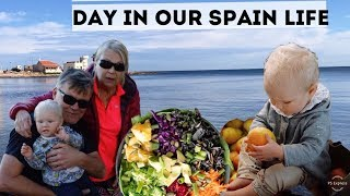 FOLLOW A DIGITAL NOMAD FAMILY DURING THE DAY IN SPAIN