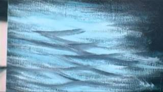 Beginners Paint Ocean Waves With Acrylics