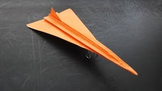 getlinkyoutube.com-How to Make a Concorde Origami Paper Plane: Instruction