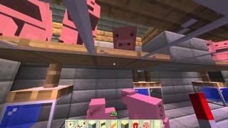 getlinkyoutube.com-Minecraft Schweinefarm OHNE spawner (Effektiv)