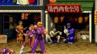 getlinkyoutube.com-Super Street Fighter 2 Turbo HD Mugen Remix playthrough with Ken 1/2