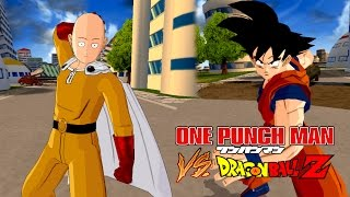 getlinkyoutube.com-Saitama (One Punch Man) vs Goku | One Punch Man Meets Dragon Ball Z | DBZ Tenkaichi 3 (MOD)