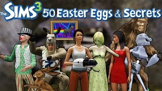 getlinkyoutube.com-The Sims 3: 50 Easter Eggs and Secrets