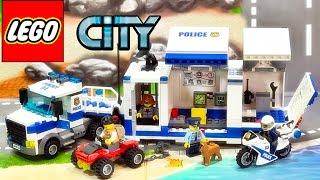 getlinkyoutube.com-레고 시티 60139 이동식 지휘본부 상황극 놀이 리뷰 LEGO City Police Mobile Command Center