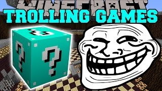 getlinkyoutube.com-Minecraft: ETERNAL FROST TROLLING GAMES - Lucky Block Mod - Modded Mini-Game