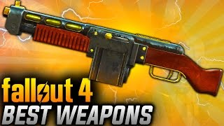 getlinkyoutube.com-Fallout 4 Rare Weapons - TOP 10 Most Powerful Legendary Weapons! (BEST WEAPONS OVERALL)