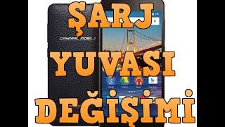 getlinkyoutube.com-General Mobile 4G şarj yuvası ( Yeri ) değişimi