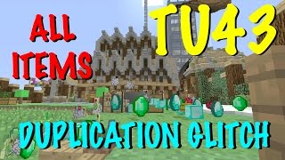 getlinkyoutube.com-Minecraft Xbox / PS - TU43 - DUPLICATION GLITCH  - TUTORIAL - NEW + WORKING - ALL ITEMS!