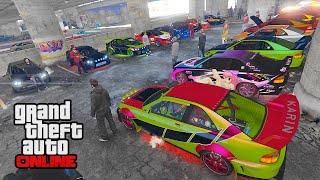getlinkyoutube.com-DLC Sultan RS Car Show! || GTA 5 Online || PC (Funny Moments!)
