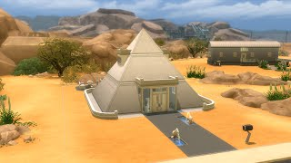 getlinkyoutube.com-The Sims 4 - House Building - Modern Pyramid
