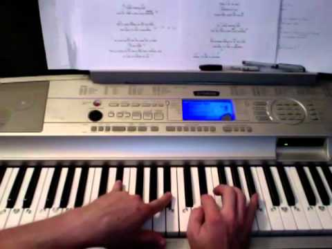 Lost in Paradise- Evanescence piano lesson Todd Downing