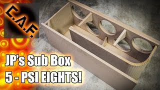 getlinkyoutube.com-HOW TO BUILD - THELIFEOFPRICE Subwoofer Box – CarAudioFabrication