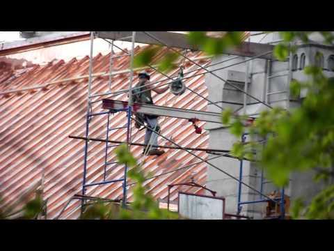 Cure de rajeunissement pour la toiture de la Basilique de Sainte-Anne-de-Beaupré