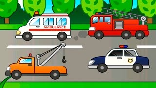 getlinkyoutube.com-Мультик . Собираем виды транспорта - Машинки. Поезда.Космический транспорт.