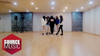 getlinkyoutube.com-여자친구 GFRIEND - 시간을 달려서 (Rough) Dance Practice ver.