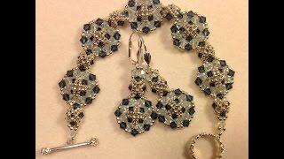 getlinkyoutube.com-Checkered Circles Bracelet Tutorial