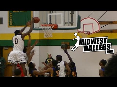 Milwaukee Hamilton's David Burrell has SERIOUS HOPS!!! Junior Season Mixtape!!!