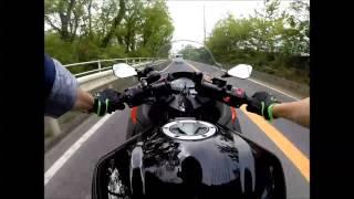 getlinkyoutube.com-ninja250 with GoPro テスト走行