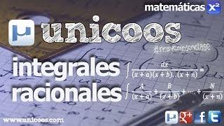 Imagen en miniatura para Integral racional en fracciones simples 01