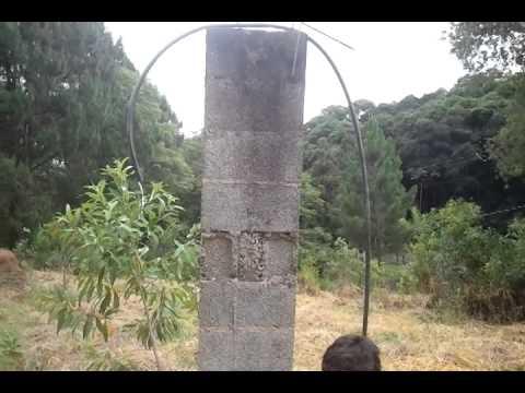 bomba de ariete carneiro hidraulico teste3 agua recalcada100m 2013 12 24 15 48 25