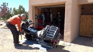 getlinkyoutube.com-How to Pick up a Big Motorcycle Accidentally Dropped