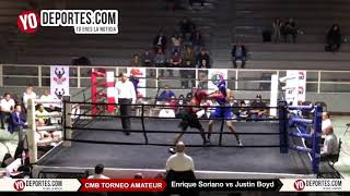 Enrique Soriano vs. Justin Boyd CMB Torneo Amateur Cicero Stadium