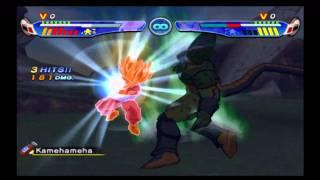 getlinkyoutube.com-Dragon Ball Z: Budokai 3 Super Saiyan 2 Teen Gohan vs Cell