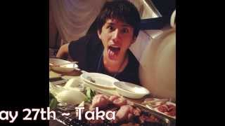 getlinkyoutube.com-Happy Birthday 27th Taka One Ok Rock