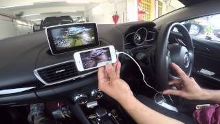 getlinkyoutube.com-Mazda 3 - Wireless MirrorLINK