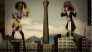 Giantess Fight - Unknow anime