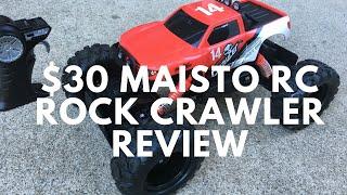 getlinkyoutube.com-Maisto RC Rock Crawler Review   How Good is a $30 RC Rock Crawler?