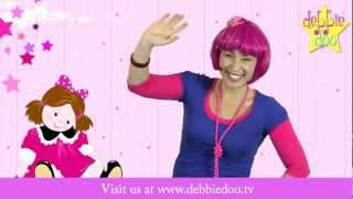 Miss Polly Had a Dolly - Nursery Rhyme with Actions - Debbie Doo