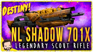 getlinkyoutube.com-NL Shadow 701X (Year 2) Legendary Scout Rifle | Gameplay Review | Destiny (The Taken King)