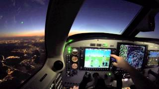 getlinkyoutube.com-✈ IFR navigation from Belgium to France with a Piper Meridian
