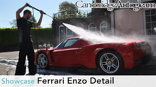 getlinkyoutube.com-Ferrari Enzo - Full Correction Detail by Cambridge Autogleam