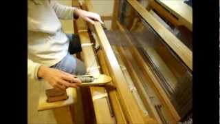 getlinkyoutube.com-How to Weave on a Loom - Video 16 - Throwing the Shuttle