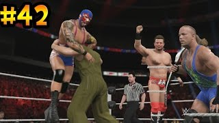 getlinkyoutube.com-WWE 2K15 - El Fin del Campeón de los Estados Unidos - Se viene el Campeonato de la WWE