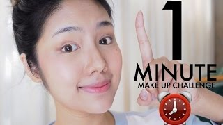 getlinkyoutube.com-แต่งหน้า1นาที 1Minute Makeup Challenge | Archita Station