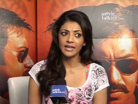 Singham Actress Kajal Aggarwal speaks about working with Rohit Shetty