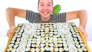 Sushi Sushi Sushi • MUKBANG