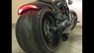 getlinkyoutube.com-Harley-Davidson V-ROD muscle 360tire