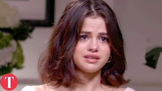 Selena Gomez Reacts To Justin Bieber And Hailey Baldwin's Engagement width=