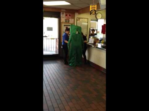 Gumby at McDonald's
